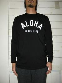ALOHA BEACH CLUB(アロハビーチ クラブ)17SS - FLARY/フラリー -OWNER'S BLOG-