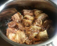肩ロース肉の豚の角煮 - 葉っぱ=64 PART2