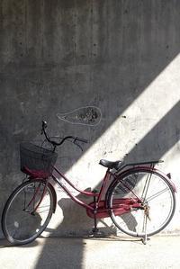 縦横構図 自転車 - 赤煉瓦洋館の雅茶子