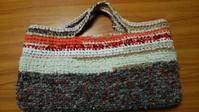 横長裂き編みかばん - natsu なつのまいにち