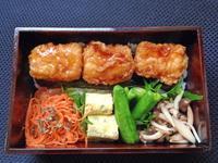 3/15いか天丼弁当 - ひとりぼっちランチ