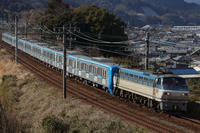 2017/3/11 Sat. 東海道本線 - 8862レ メトロ15000系ラスト甲種 - - PHOTOLOG by Hiroshi.N