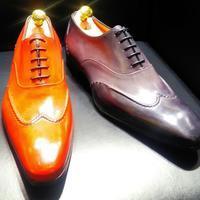 【Santoni】「靴の宝石」とも呼ばれるサントーニから凝りに凝った一足が登場 - シューケアマイスター靴磨き工房 銀座三越店