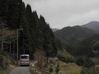 堂山下 - リンデンバス ~バス停とその先に~