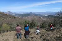 巨木・岩壁・クロッカス、眺めも美しテッツィオ山 - イタリア写真草子 Fotoblog da Perugia