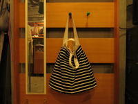 """""""SOURCE-TAP × TheThreeRobbers EZ Oblong(Mariniere)Bag BLACK/NATURAL""""ってこんなこと。 - THE THREE ROBBERS ってこんなこと。"""