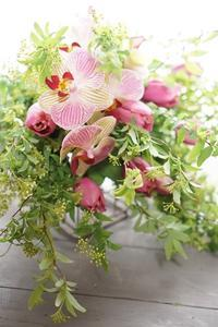 こんなレッスンもあります・とことんパリスタイル - お花に囲まれて