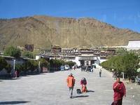 タルシンポ寺(扎什伦布寺)に来ました - 中国探検想い出日記