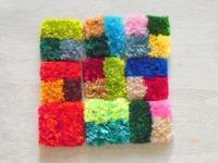 カラフルぎっしり - 空飛ぶ絨毯