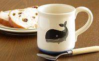 くじらのマグカップがリニューアル! - ブルーベルの森-ブログ-英国のハンドメイド陶器と雑貨の通販