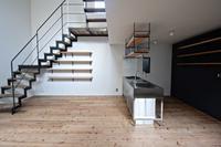天神橋の家  ステンレスオープンキッチンーpure + simple.design - Coo Planning . blog