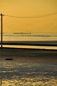 江川海岸  12017-03-24更新 - 夕陽に魅せられて・・・