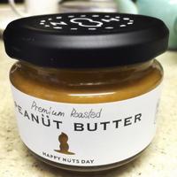 HAPPY NUTS DAYのピーナッツバター - 美味しいものいっぱい
