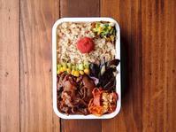 3/21(火)豚の甘辛生姜焼き弁当 - おひとりさまの食卓plus