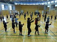 戸板小学校3年生「戸板野じょんからを踊ってみよう」社会授業 - 金沢市戸板公民館ブログ