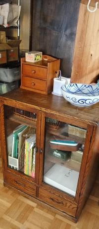 古い家具を手入れして愛着がわいてきた - インテリア今昔 築37年