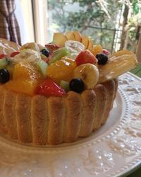 フルーツのシャルロット - 調布の小さな手作りお菓子教室 アトリエタルトタタン