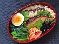 3/23時鮭の味噌粕漬け弁当 - ひとりぼっちランチ