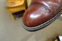 ペネトレイトブラシを使った時短ケア - シューケアマイスター靴磨き工房 三越日本橋本店