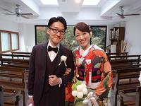 極上ビンテージ振袖にタキシードがオシャレ☆素敵なご婚礼のお客様 - それいゆのおしゃれ着物レンタル