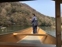 (京都名所)嵐山の屋形船 / Yakatabune of Arashiyama - Macと日本酒とGISのブログ