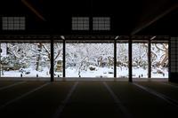 圓光寺の雪景色 - 花景色-K.W.C. PhotoBlog