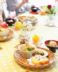 パンとお菓子とデリご飯レッスンレポート -  川崎市のお料理教室 *おいしい table*        家庭で簡単おもてなし♪