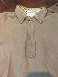 60sall cotton  HOP SACK マーシャルフィールド プルオーバーB.D shirts! - ショウザンビル mecca BLOG!!