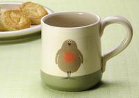 ロビンのマグカップ 英国のサラさんのハンドメイド陶器 - ブルーベルの森-ブログ-英国のハンドメイド陶器と雑貨の通販