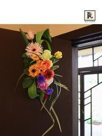 「亮子さんのフラワーレッスン」3月 - Bouquets_ryoko