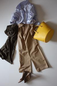絶妙なワイドパンツ - eikoの着回し服&英国式オーラライト