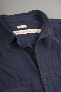 KAPITALAnorak Shirt (Navy) - un.regard.moderne