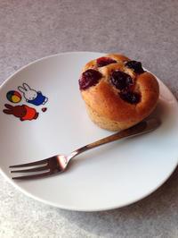 米粉のクランベリーマフィン - がんばれ!お家パン