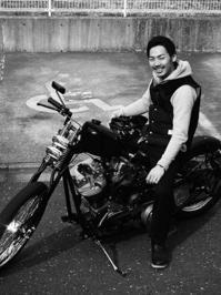 下田 育男 & Harley-Davidson FLH(2017.03.19) - 君はバイクに乗るだろう