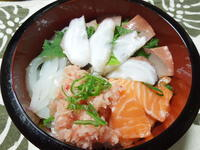 海鮮丼 - 日だまりカフェ
