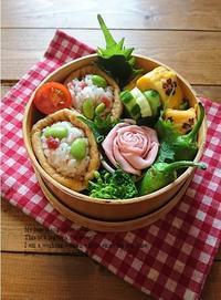 3.31 花の名溢れる稲荷寿司弁当&ブログ的プレミアムフライデー - YUKA'sレシピ♪