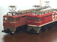 TOMIX EF81 2種類 - QANTAS時々CATHAYの旅 Nゲージ鉄道模型編(by tabi-okane)