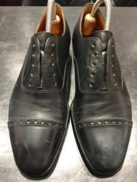黒で保湿、黒でお化粧 - R&Dシューケアショップ 玉川タカシマヤ本館4階紳士靴売場内
