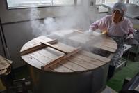 本匠の農産物加工組合「匠」の味噌づくりその1 - 鹿ガ畑ニ居リマス