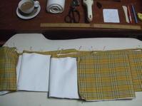 今日の縫い物「浴衣の半幅帯」 - 「サクラサク」だより