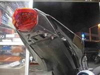S田サン号 ニンジャ250Rのナンバーレス風フェンダーレス加工が完成♪ - バイクパーツ買取・販売&バイクバッテリーのフロントロウ!