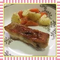 金目鯛のムニエル&あら汁 - kajuの■今日のお料理・簡単レシピ■