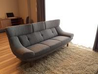 カリモク家具の納品実例UU46モデル(サリダ・グレー) - CLIA クリア家具合同会社