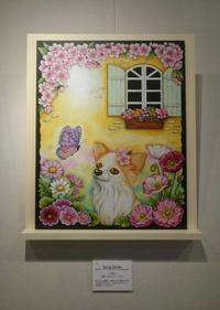 チョークアートグループ展【春】開催中♪ - 色彩チョークアート*ふわり ~fuwari*chalkart~