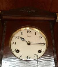 Meiji メイジ時計 ゼンマイ式掛け時計の修理 - トライフル・西荻窪・時計修理とアンティーク時計の店