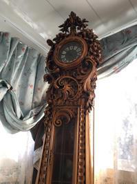 グランドファザーズクロック(大型置き時計)の修理 - トライフル・西荻窪・時計修理とアンティーク時計の店