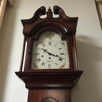NEW ENGLAND CLOCK Co グランドマザークロック修理 - トライフル・西荻窪・時計修理とアンティーク時計の店
