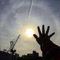 日暈(にちうん)、22度ハロの確認法は腕を伸ばすこと! - Air Born Japan 日本の空を、楽しもう!