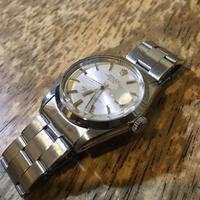 ロレックス オイスターパーペチュアルデイト1500 自動巻き時計修理 - トライフル・西荻窪・時計修理とアンティーク時計の店