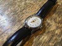 オリス ポインターデイト自動巻き時計修理 - トライフル・西荻窪・時計修理とアンティーク時計の店